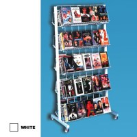 Wire Rolling Book Display Rack,Book Display Rack,Rolling ...