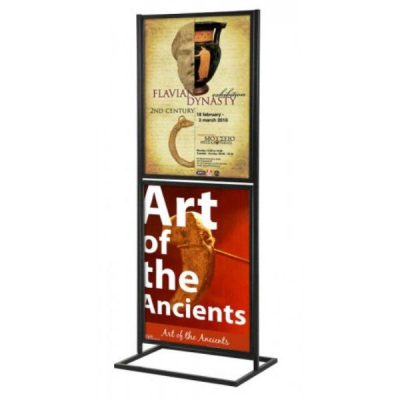 poster display stands sign