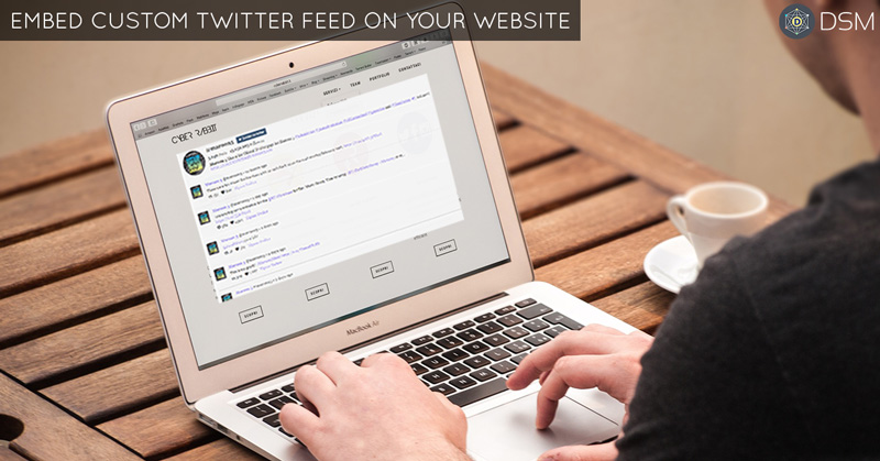 Embed Twitter Feed On Website