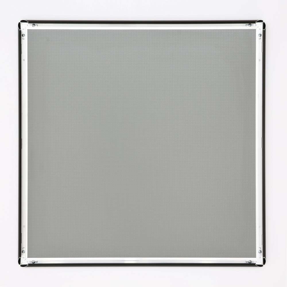 24x24 snap poster frame 1 inch black profile mitered corner