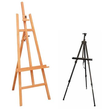 easel stand display system