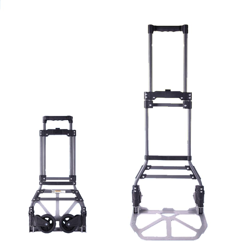 Foldable Luggage Trolley Heavy Duty Portable Trailer