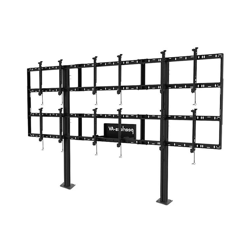 Peerless DS-S555-3X2 Modular 3x2 Video Wall Pedestal