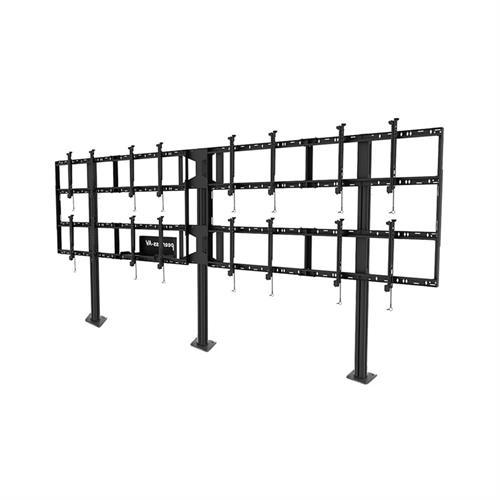 Peerless DS-S555-4X2 Modular 4x2 Video Wall Pedestal