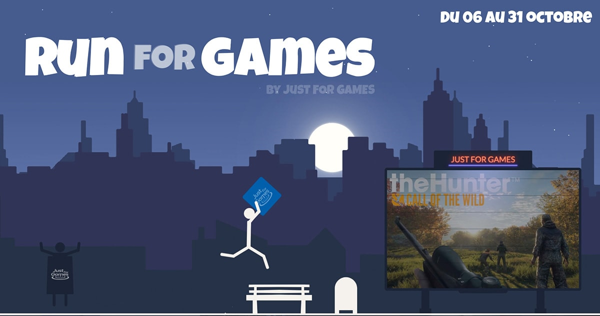Run for Games avec Just For Games - des lots à gagner 11