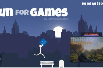 Run for Games avec Just For Games - des lots à gagner 14