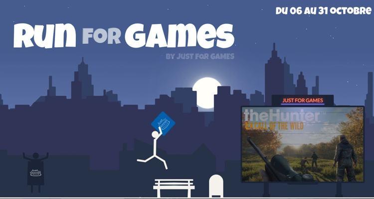 Run for Games avec Just For Games - des lots à gagner 22