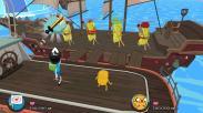 Test-Adventure-Time-Les-Pirates-de-la-Terre-de-OOO-Combat-Sur-le-bateau