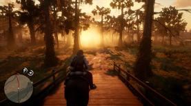 Red Dead Redemption 2 - Le marécage brûle sous le soleil
