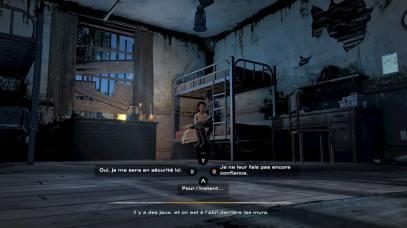 The Walking Dead Ultime Saison AJ Clementine à l'abris
