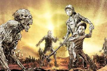 The Walking Dead Ultime Saison Clementine et AJ First