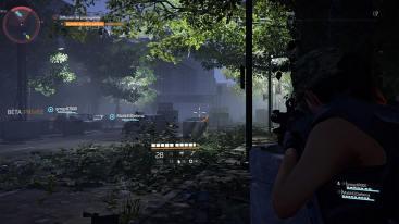 The Division 2 Beta engagement en combat