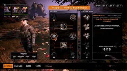 Astuces Mutant Year Zero Road To Eden Magnus Capacite Marionettiste