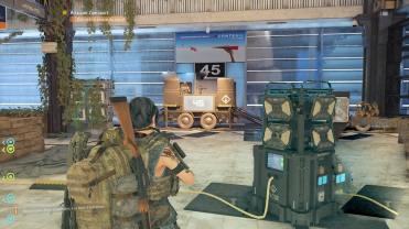 Raid The Division 2, Tourelle 45, Bloc de système de défense, Zone de Boss1