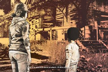 The Walking Dead Episode Final Clementine et AJ se remémorant des souvenirs