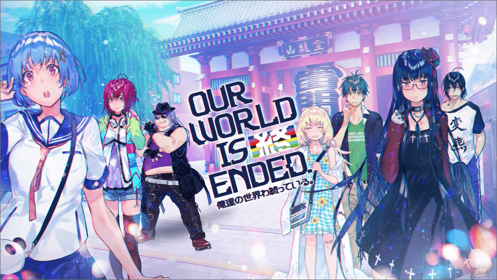 Our World Is Ended écran titre