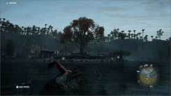 Ghost Recon Breakpoint nage vers nature
