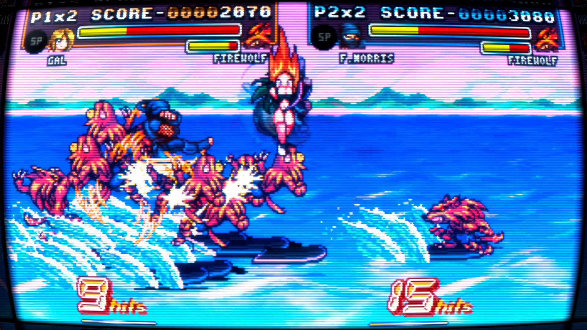Fight'N Rage combat surf sur eau