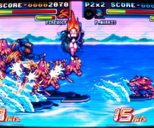 Fight'N Rage combat surf sur eau