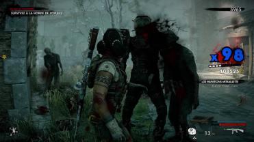 Test Zombie Army 4 Dead War combat cac le zombie est dead