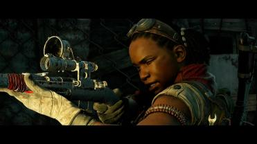 Test Zombie Army 4 Dead War personnage vise au fusil