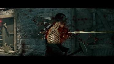 Test Zombie Army 4 Dead War un zombie déchiqueté par balle lui aussi