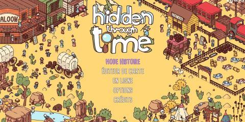 Hidden Through Time écran titre