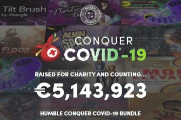 Humble Bundle Conquer COVID-19
