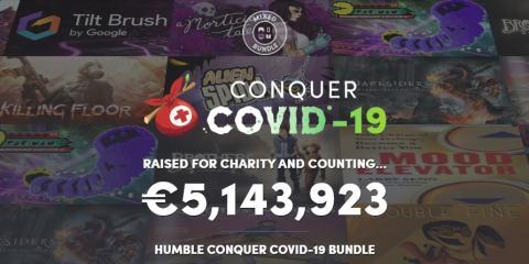 Humble Bundle Conquer COVID-19