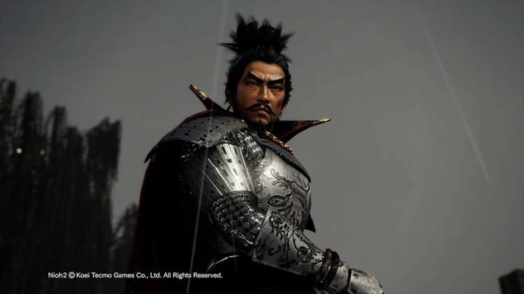 Nioh 2 chef samurai
