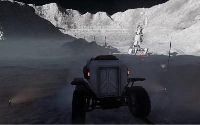 DELIVER US THE MOON extérieur Sol cratère Reinhold