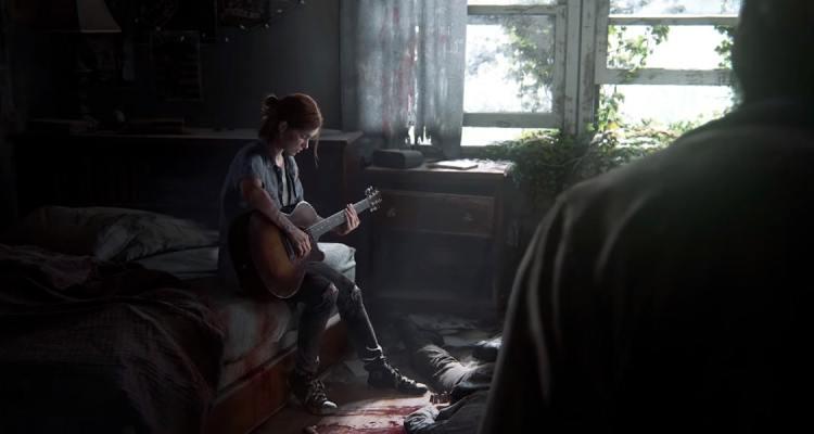 The Last of Us 2 Ellie guitare