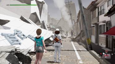Disaster Report 4 Summer Memories bâtiments écroulés