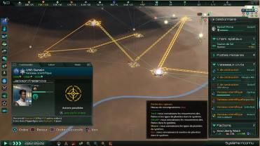 Stellaris_ Console Edition_le listage d ojectifs permet de donner des ordres multiples aux vaisseaux