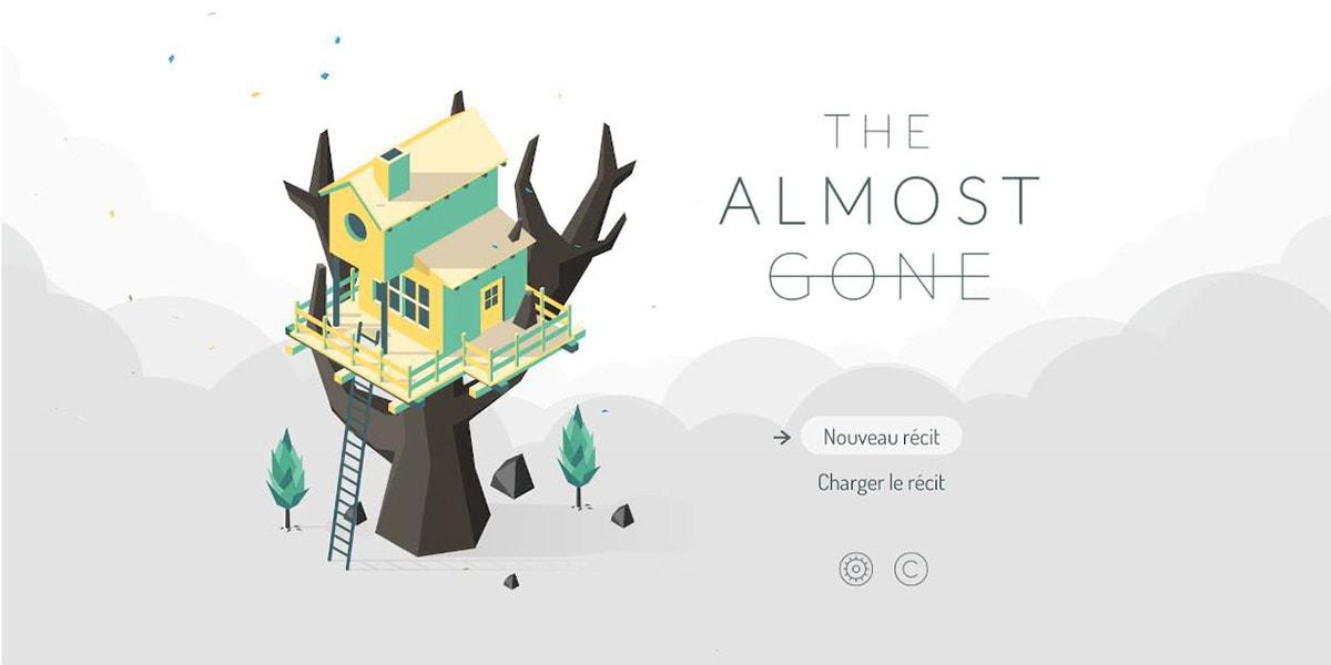 The Almost Gone niveau1 écran titre