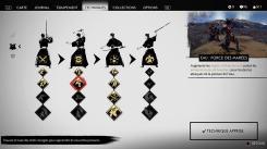 Ghost of Tsushima menu postures de combat