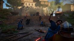Assassin's Creed Valhalla PS5 Scene combat