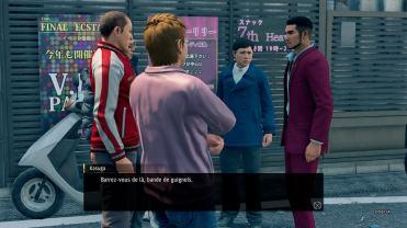 Yakuza Like A Dragon cherchez pas les embrouilles
