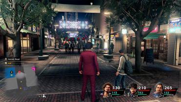 Yakuza Like A Dragon balade en ville de nuit