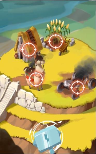 Coin Master attaque village Lama