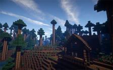 Programmation métiers du jeu vidéo - Minecraft landscape