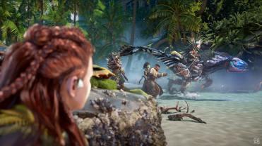 Horizon Forbidden West State of Play Gameplay PS5 Eren fait prisonnier dans les pillards