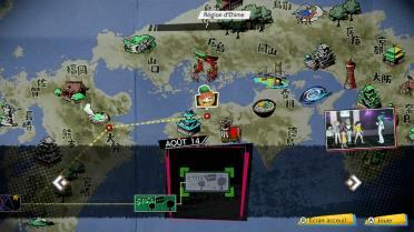World's End Club Carte du Japon