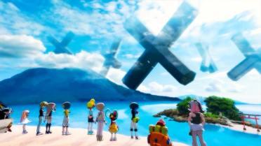 World's End Club étrange X dans le Ciel