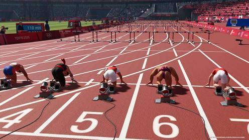 JEUX OLYMPIQUES TOKYO 2020 - Course 100m tenue personnalisée