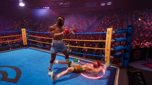 Big Rumble Boxing Creed Champions le coup final de Clubber