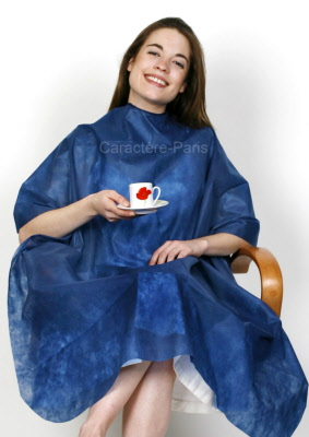 Capes robes gowns and coverings for hair salon clients