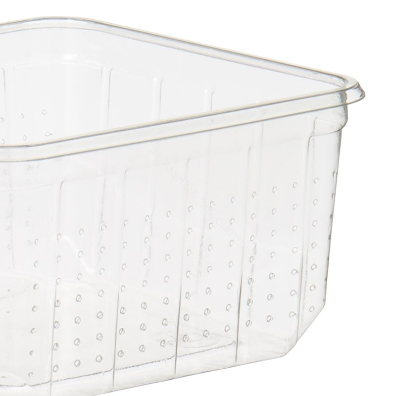 Cricket container with perforation 114x114mm 500cc
