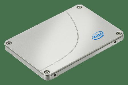 disque dur SSD intel
