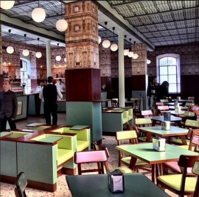 Ristoranti particolari Bar Wes Anderson Fondazione Prada  Dissapore